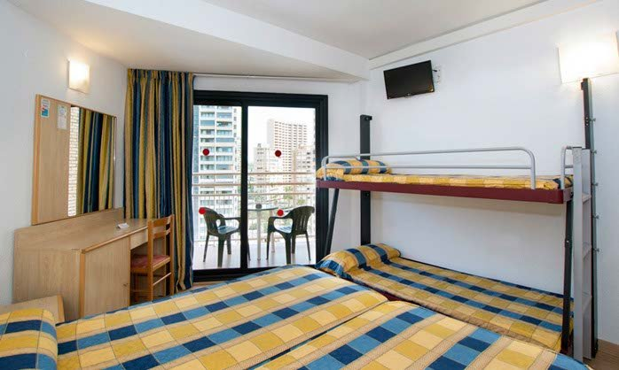 Double bunk rio park hotel benidorm